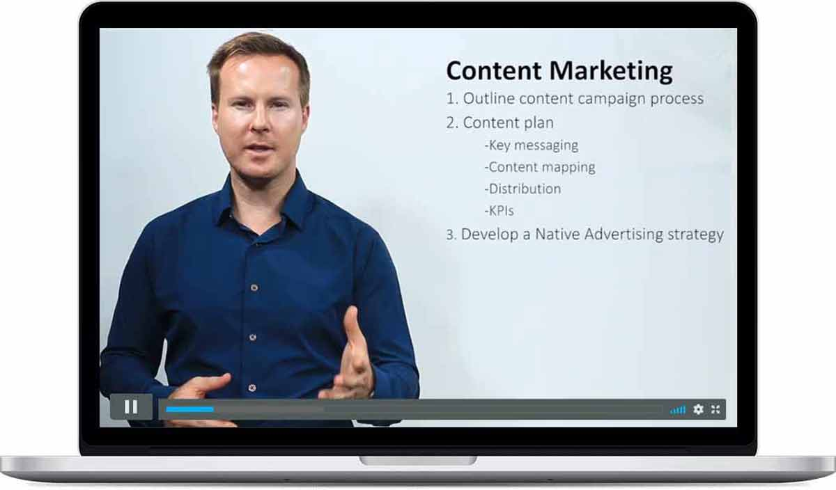 content marketing class - learn how to use content for marketing