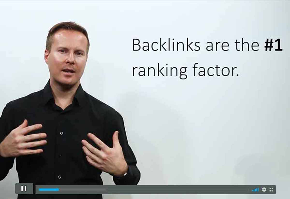 Search Engine Optimization (SEO) Class - How to get backlinks to your website